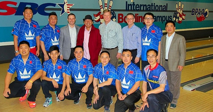 Brunswick Bowling welcomes Chinese Bowling Association to the U.S.