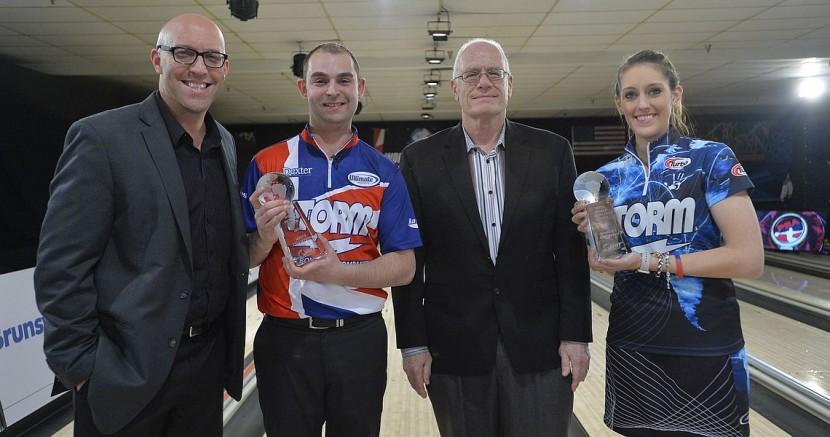 Dom Barrett, Danielle McEwan win 2015 World Bowling Tour Finals