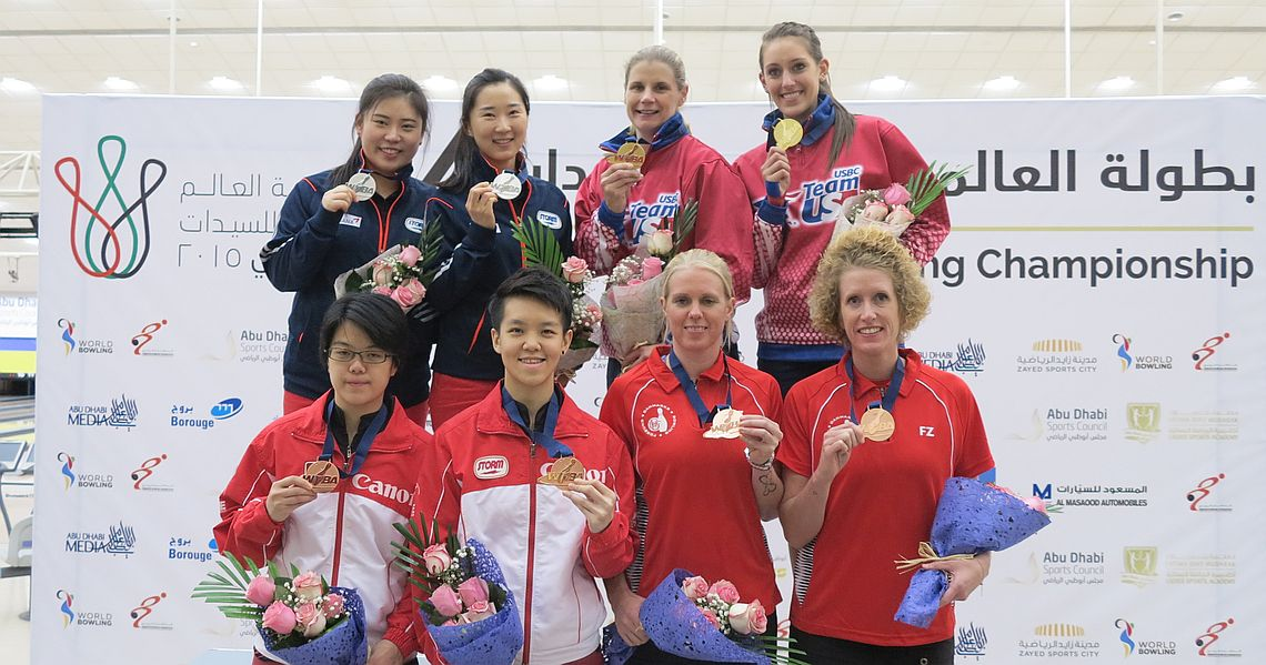 United States defend Doubles title at Women's Worlds