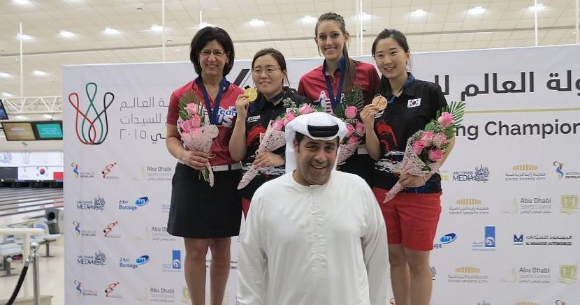 Korea's Jung Dawun wins WWC Masters gold