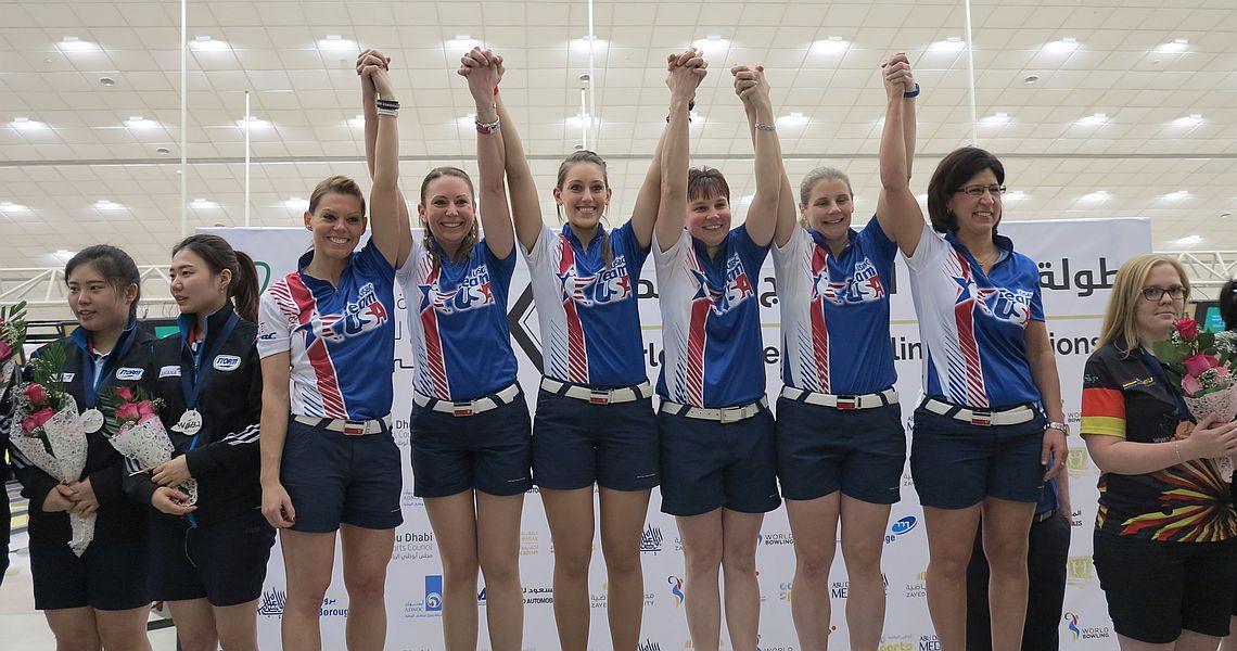 Team USA defeats Korea to win team gold