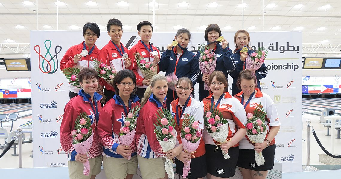 Koreas follows gold medal in Singles with victory in Trios