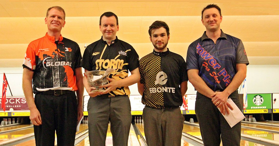 Paul Moor wins his 17th career EBT title in Irish Open