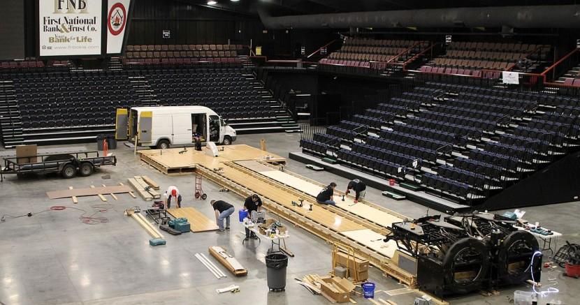 FireLake Arena undergoes transformation for Sunday's live ESPN TOC finals
