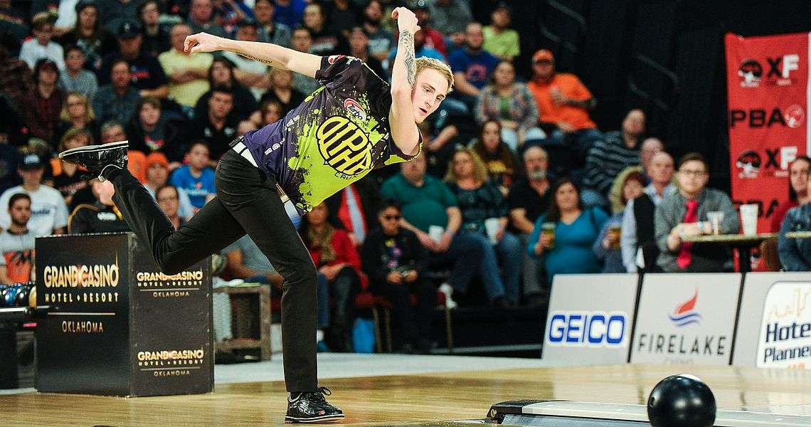 Jesper Svensson historic as February Bowler of the Month