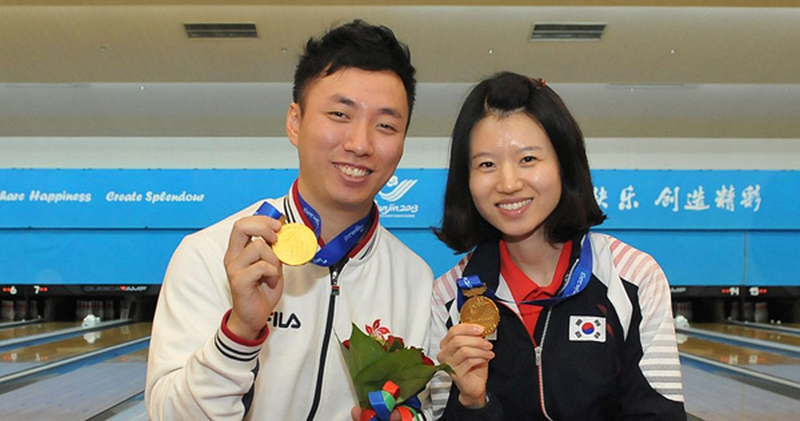 Son Yun Hee, Wu Siu Hong win East Asian Games Masters titles