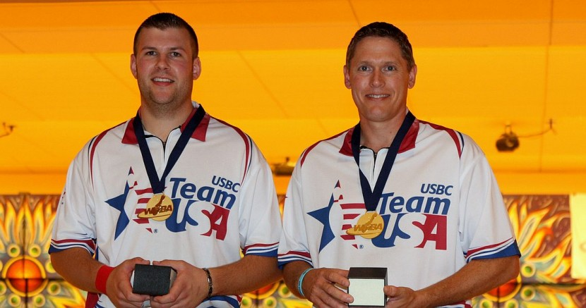 USA's Szczerbinski, Barnes shoot 569 to cruise to Doubles gold