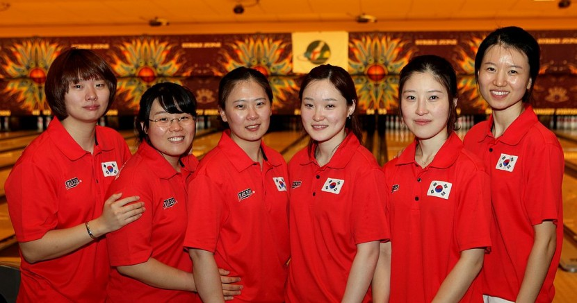 Korean women average 230 to claim the coveted Team title