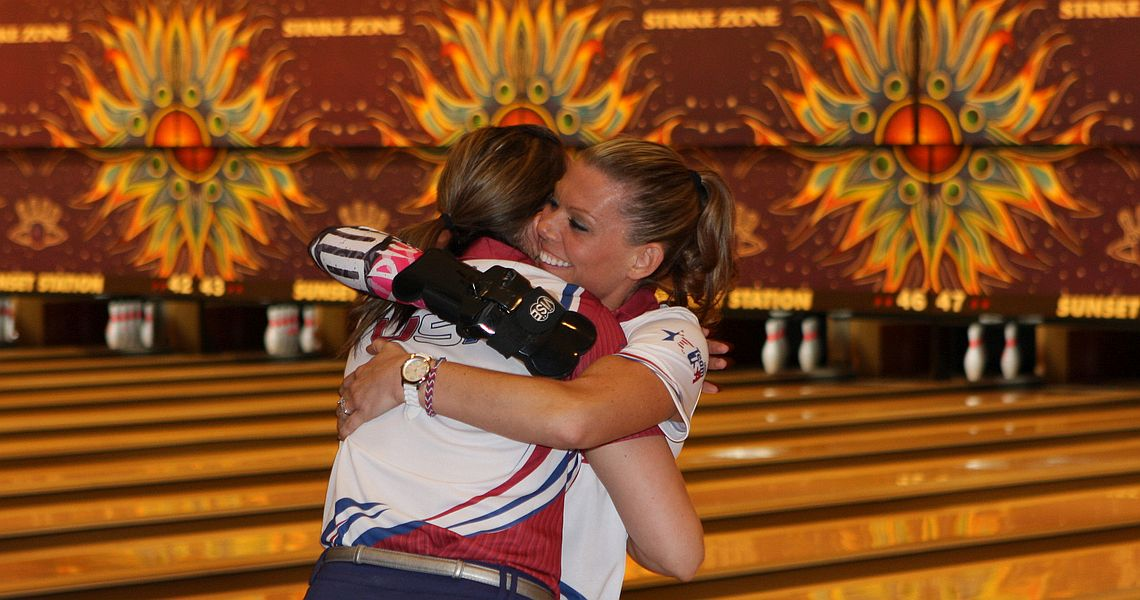 USA's Nation, O'Keefe beat team mates to win Women's Doubles gold