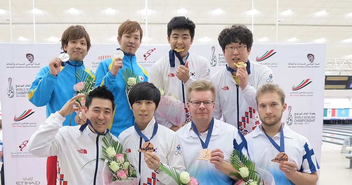 Korea's Choi Bokeum and Park Jongwoo claim gold in Doubles