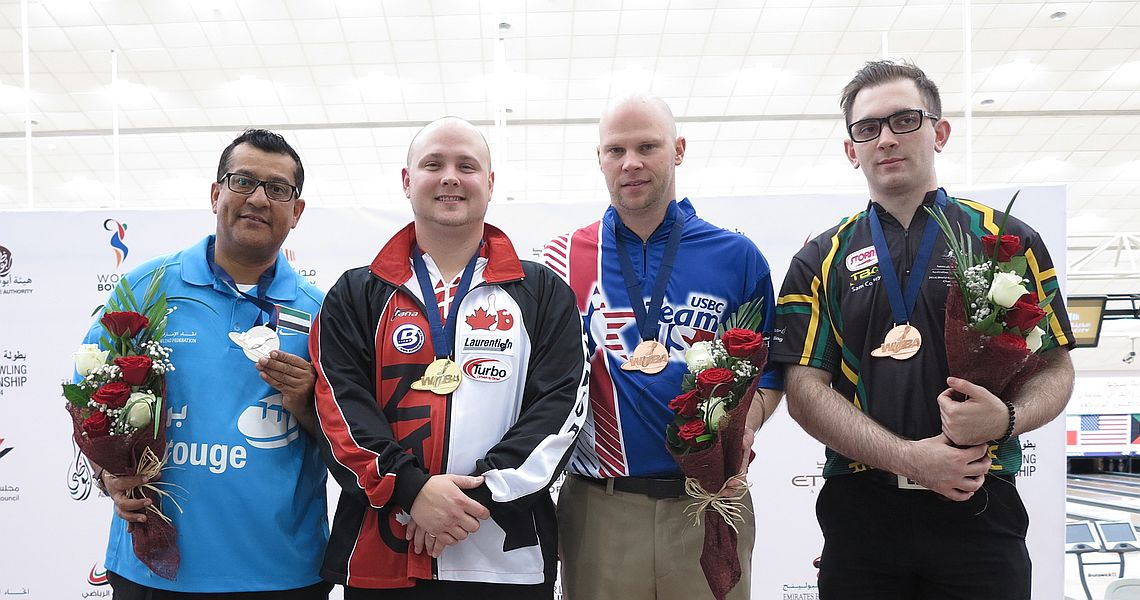 MacLelland starts Men's World Championships with victory in Singles