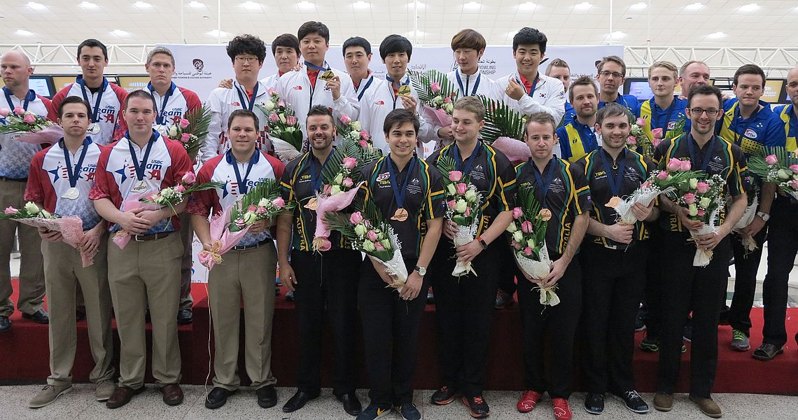 Korea beats USA to win the prestigious Team gold