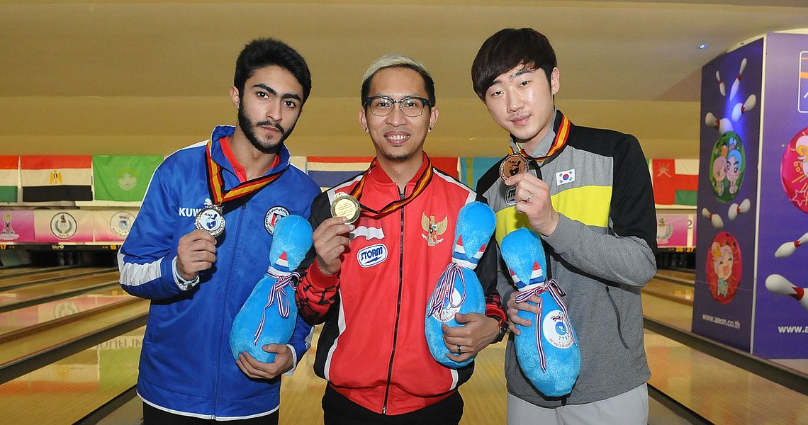 Ryan Lalisang, New Hui Fen win Masters titles at 23rd Asian Championships