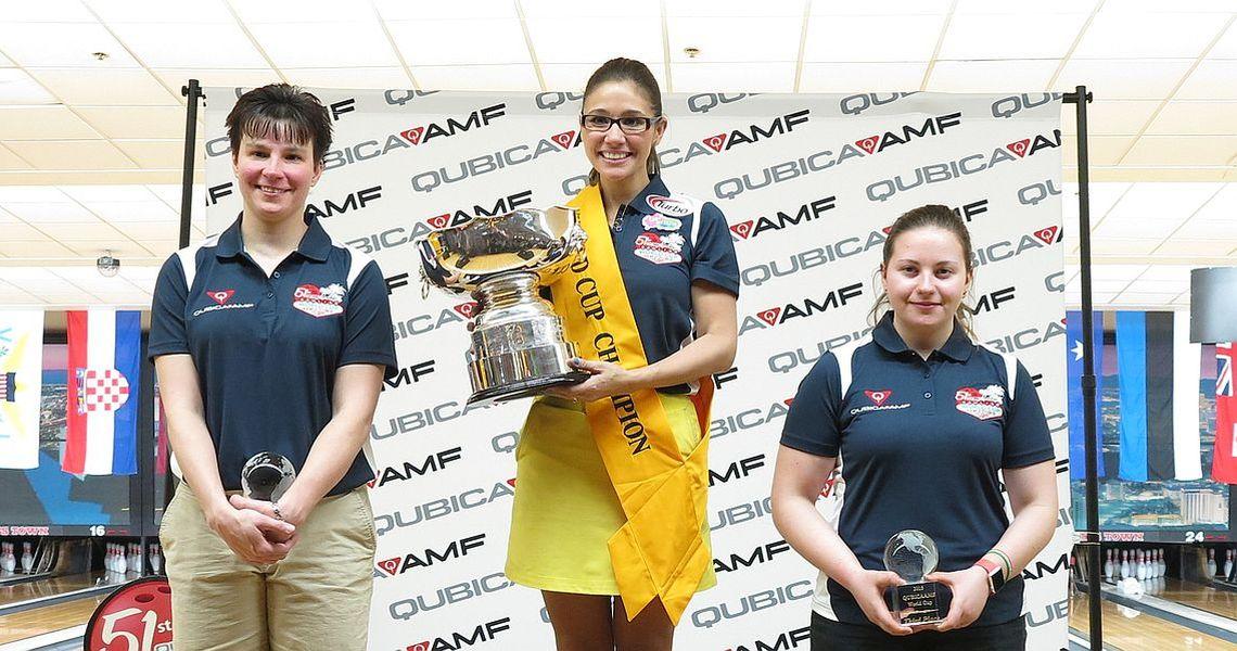 Clara Guerrero wins her second consecutive World Cup
