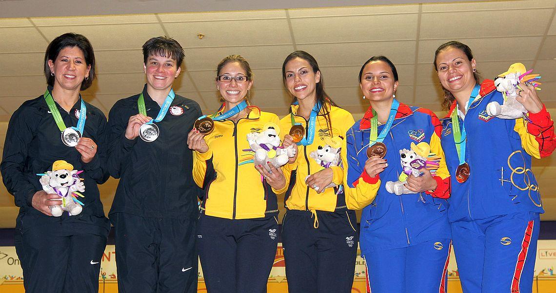Guerrero, Restrepo win gold for Colombia in Women's Doubles