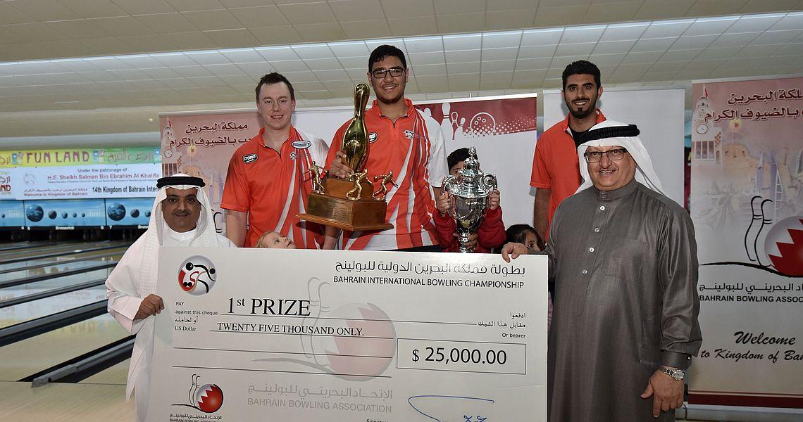 Ahmed Al-Awadhi conquers World Bowling Tour's Bahrain Championship