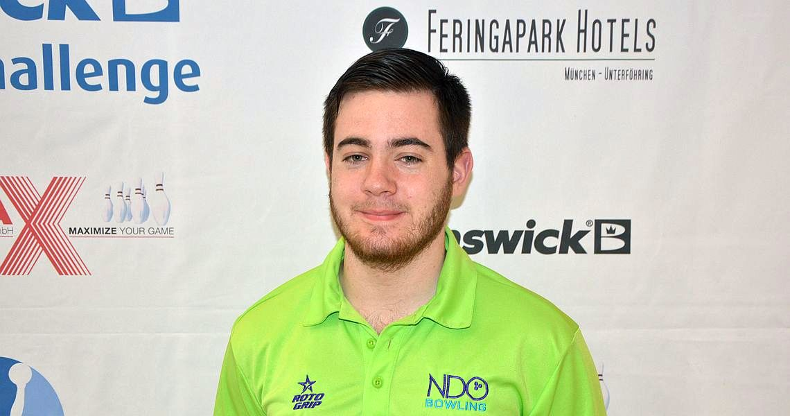 Anthony Simonsen takes first pole in Brunswick Euro Challenge