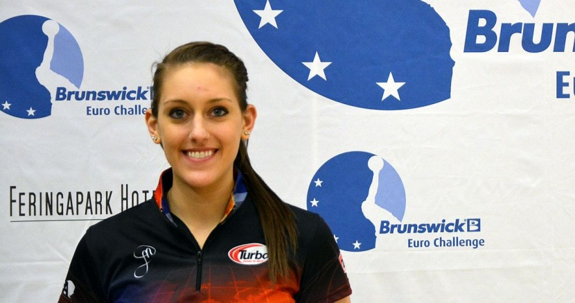 Danielle McEwan takes over second place in Munich