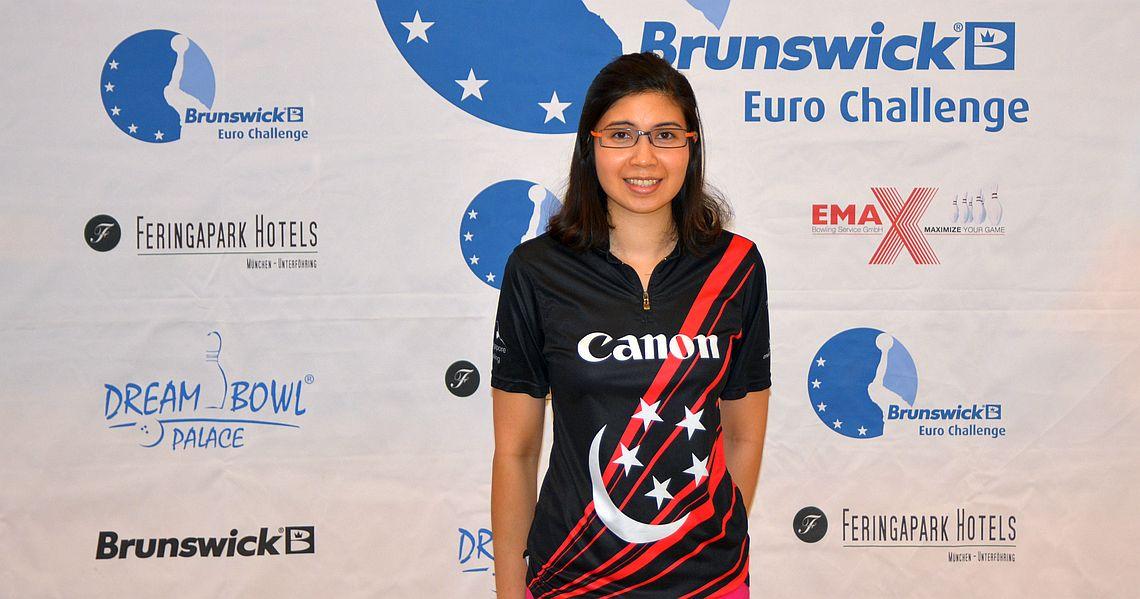 Jasmine Yeong Nathan wins qualifying in Brunswick Euro Challenge