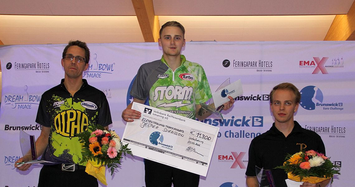 Jesper Svensson defeats Martin Larsen to win the Brunswick Euro Challenge