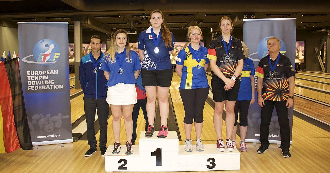 Maria Bulanova, Patrik Sörensen win gold medals in Singles