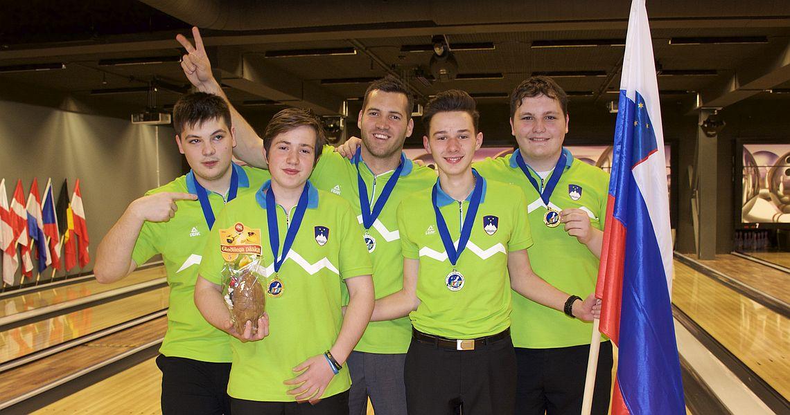 Slovenia, Sweden capture Team gold at EYC