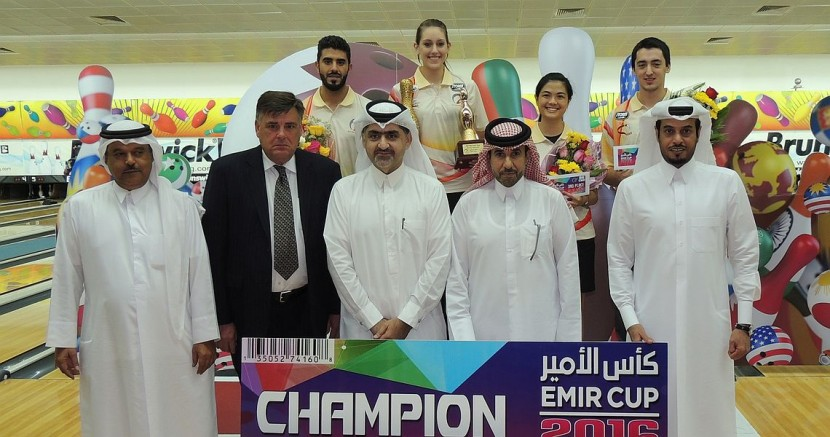 Danielle McEwan wins her first WBT title in H.H. Emir Cup