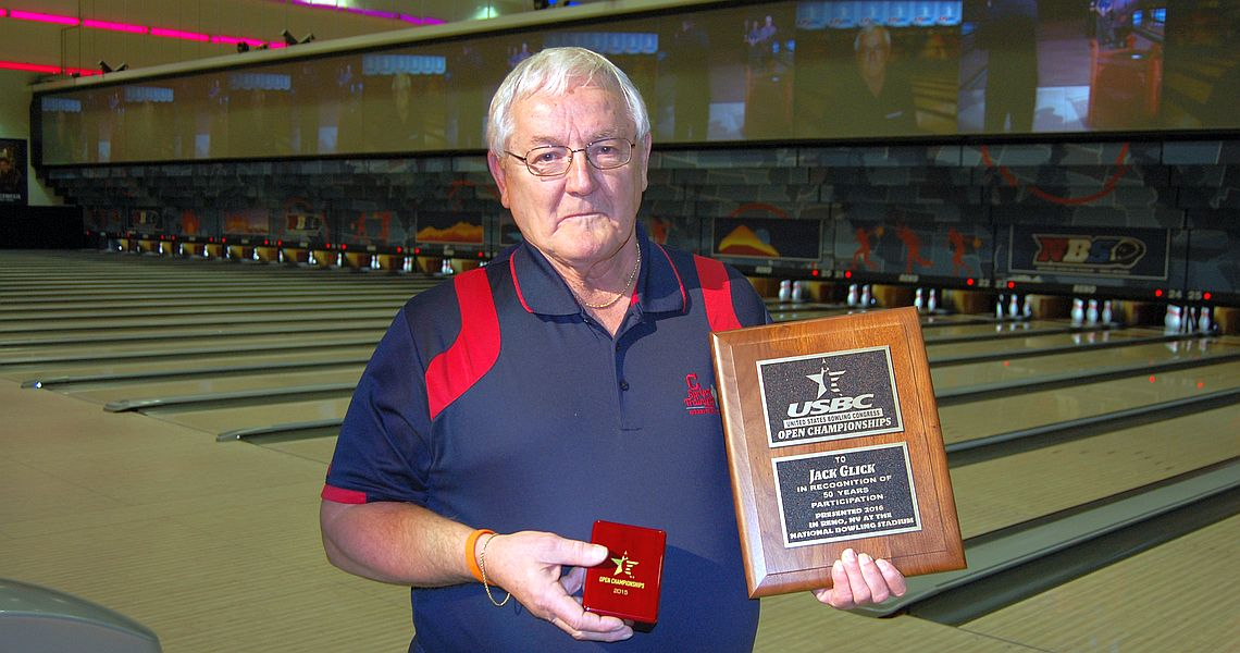 Ohio bowler celebrates 50 years at Open Championships