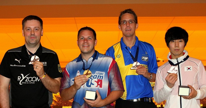 O'Neill starts World Championships with victory in Men's Singles