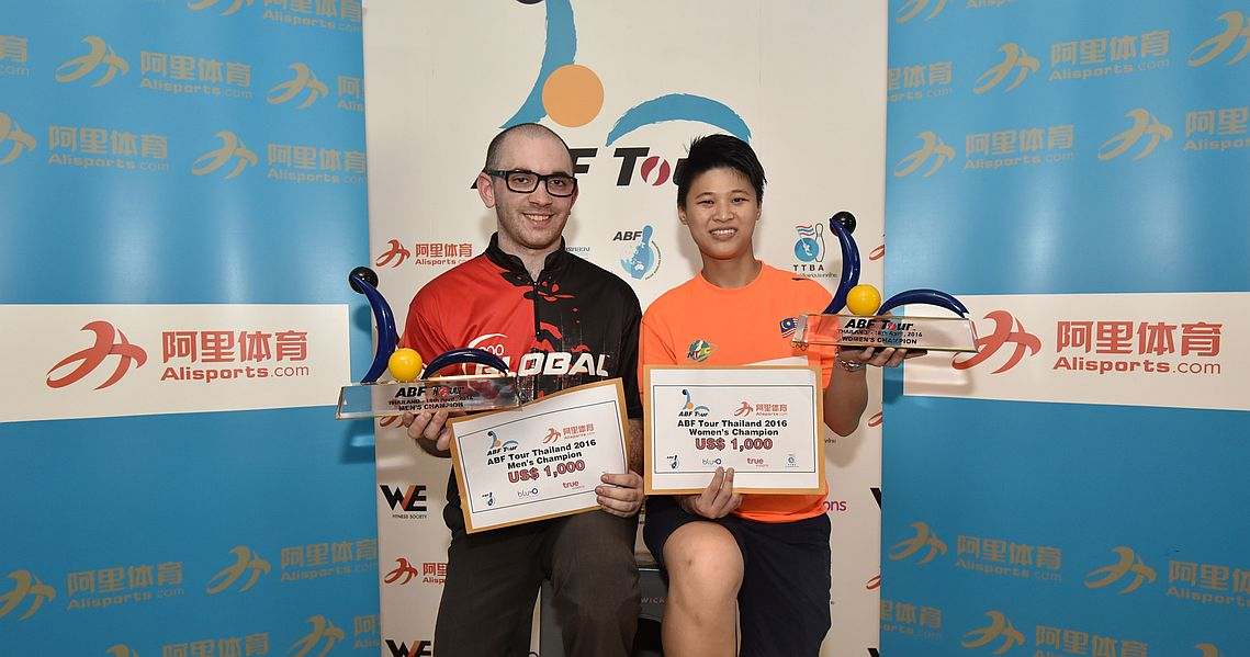 Sam Cooley, Sharon Koh conquer ABF Tour Thailand leg