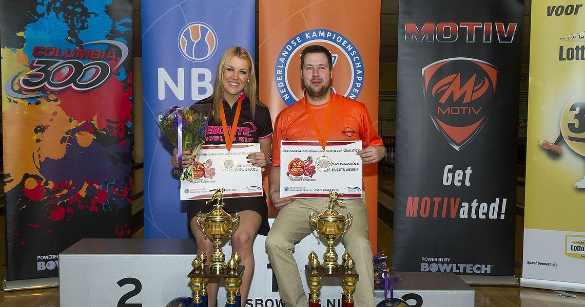 Mark Jacobs, Lisanne Breeschoten crowned Dutch National Champions