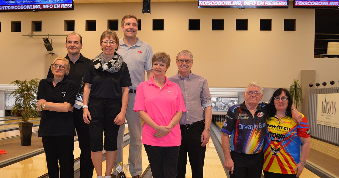 Beckel, Jeeves capture titles in 50+ Euro Bowling Open