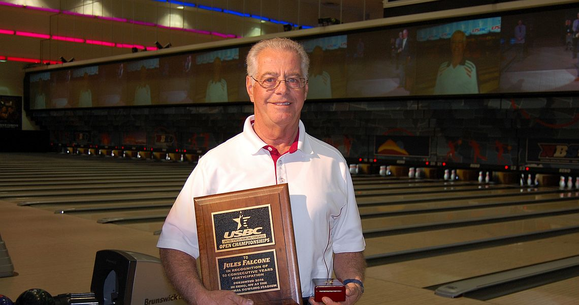 Three bowlers reach 50 years at 2016 USBC Open Championships