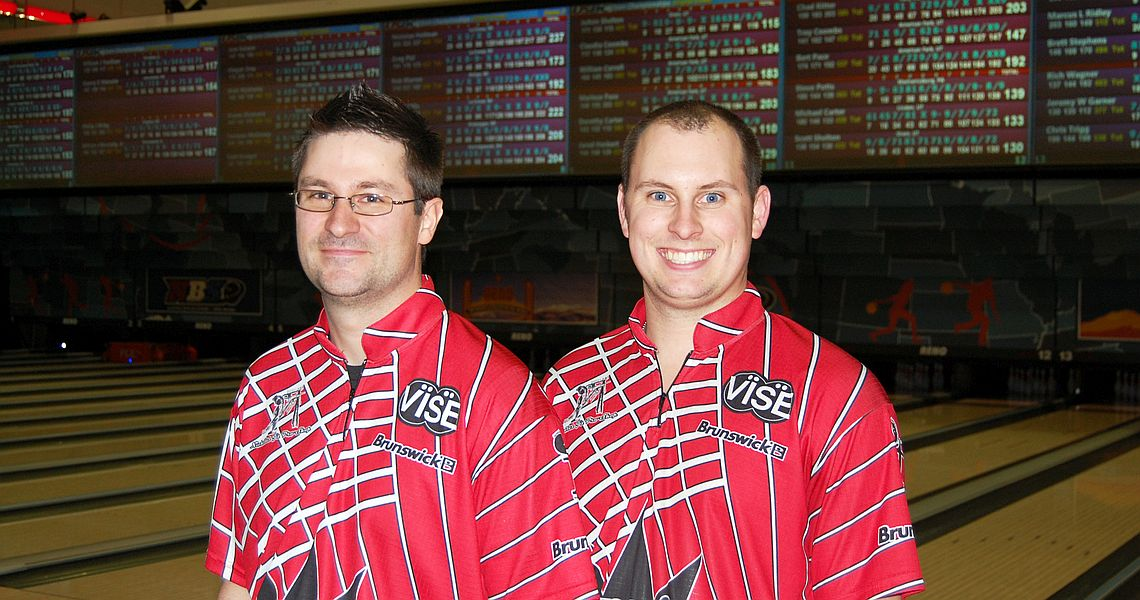 Past champions tie for Doubles lead at 2016 USBC Open Championships