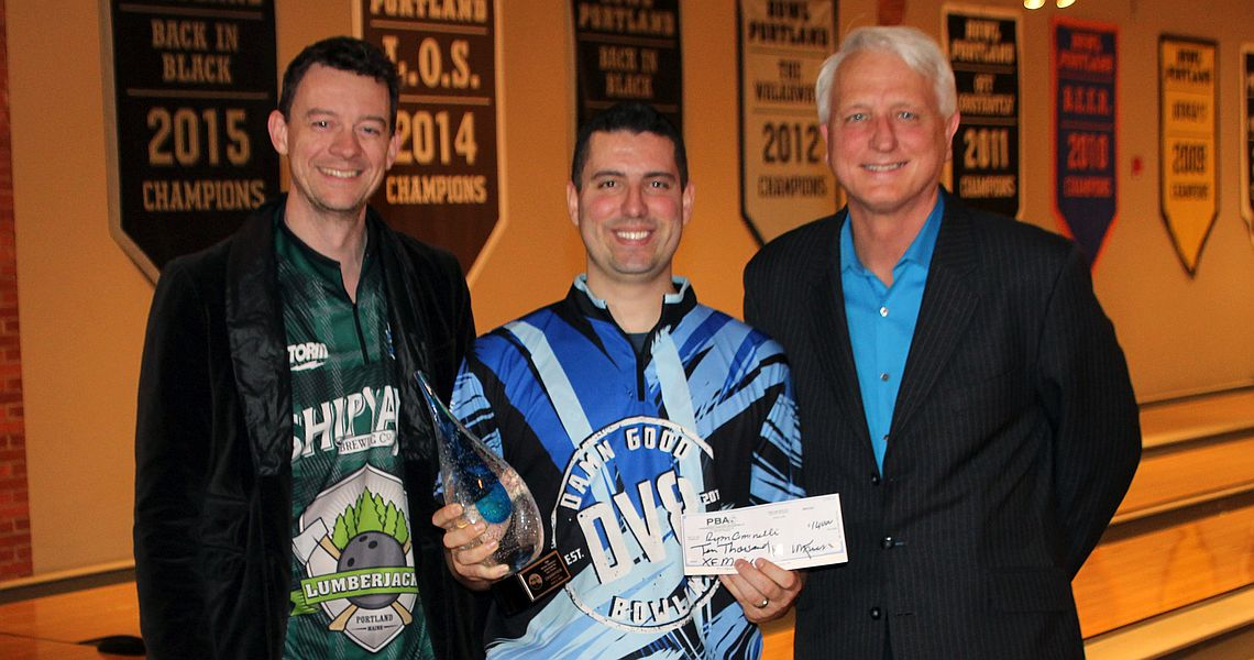 Ryan Ciminelli pushes himself to victory in PBA Maine Shootout