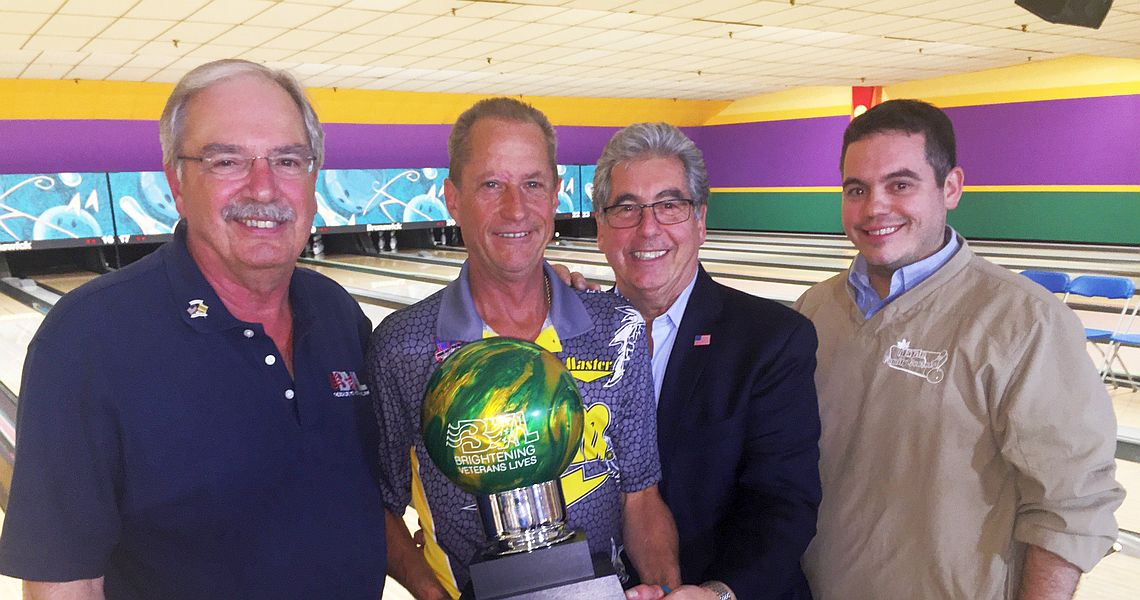 Pete Weber wins record-tying third straight PBA50 tour title