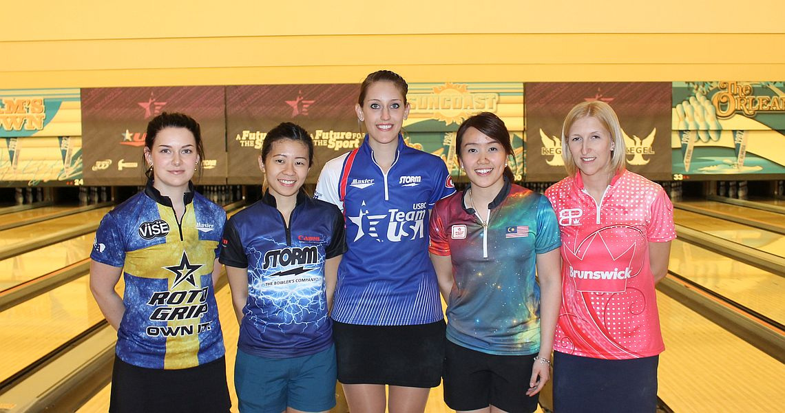 Sweden's Sandra Andersson earns top seed at 2016 USBC Queens