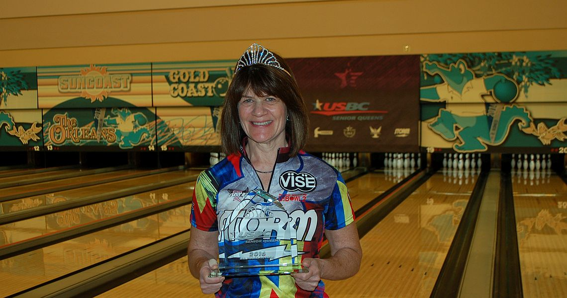Robin Romeo wins third consecutive USBC Senior Queens title