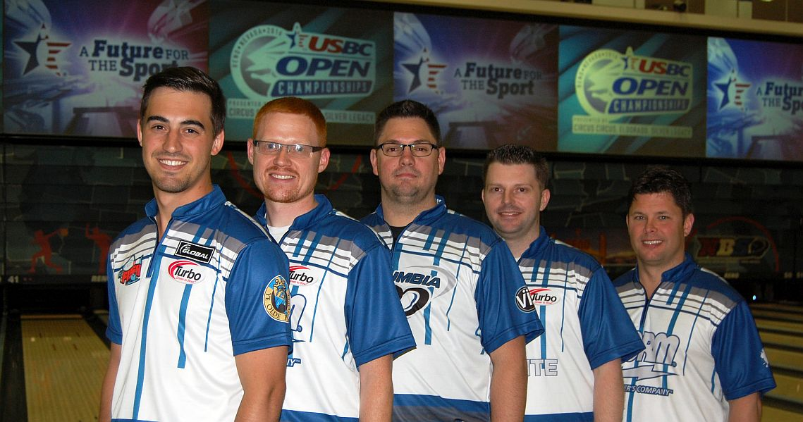 Ohio team takes lead in Team All-Events at 2016 USBC Open Championships