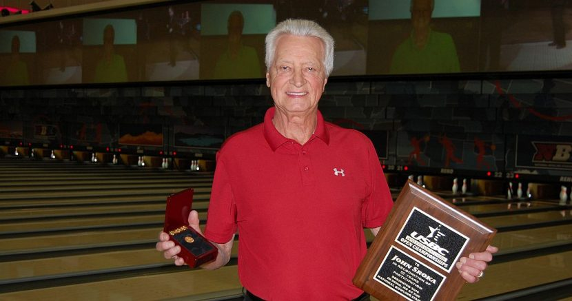 Ohio's John Sroka reaches 50 years at Open Championships