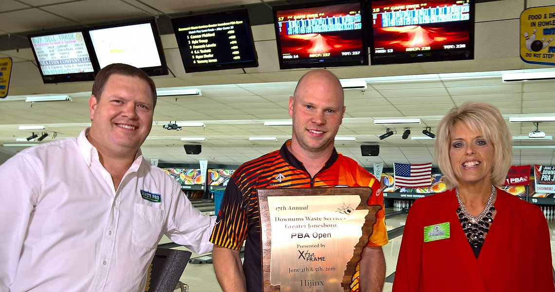 Tip helps Tommy Jones win PBA Jonesboro Open