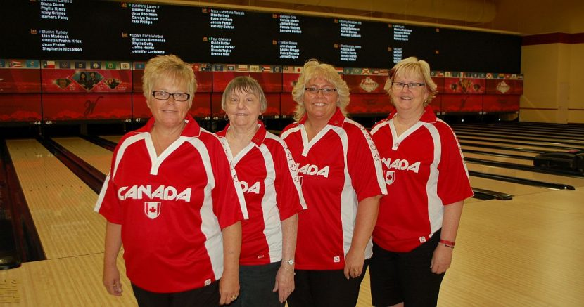Canadian team takes Ruby lead at USBC Women's Championships