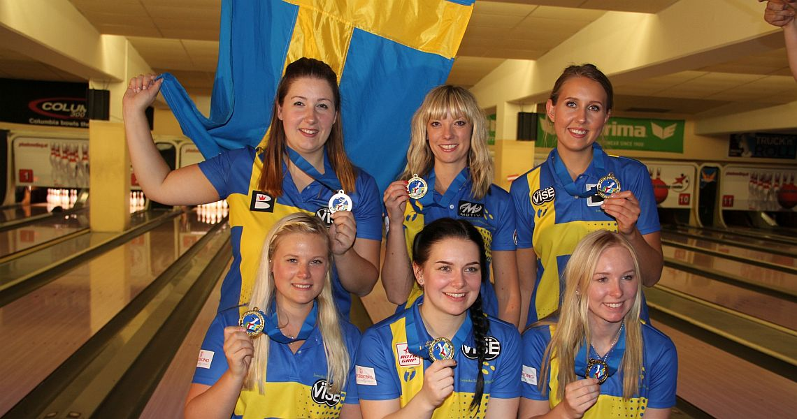 Sweden shoots two 1100 series to win the coveted Team gold