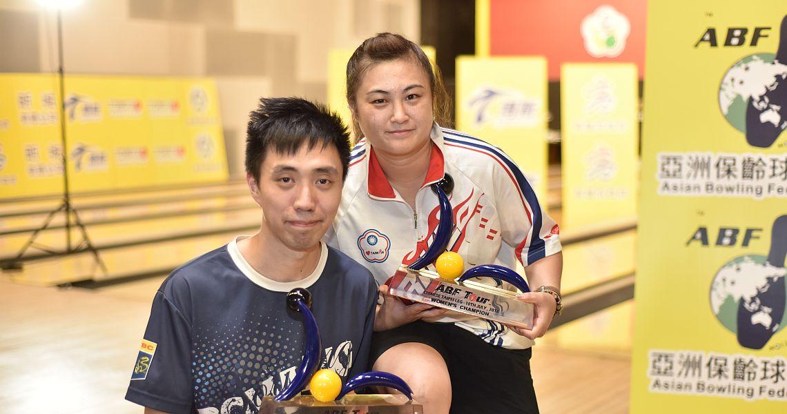 Michael Mak, Hsu Chun-Yi conquer ABF Tour Chinese Taipei leg