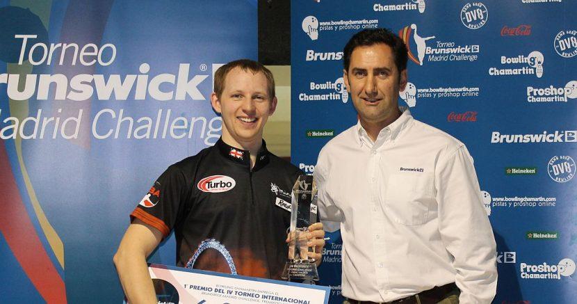Ray Teece wins all-English Brunswick Madrid Challenge finals