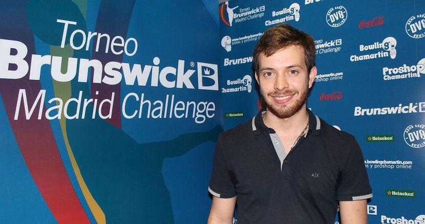 Luis Briceño sets the tone Wednesday at Brunswick Madrid Challenge