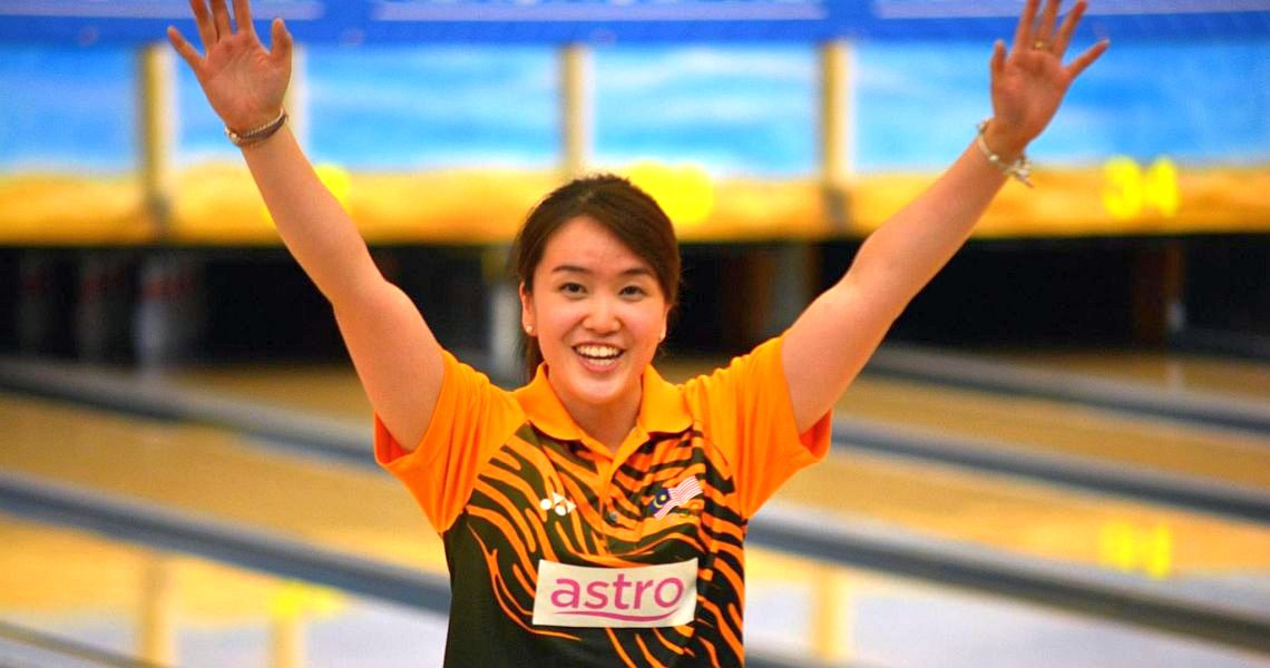 Sin Li Jane extends the winning streak by women on European Bowling Tour to 17 years