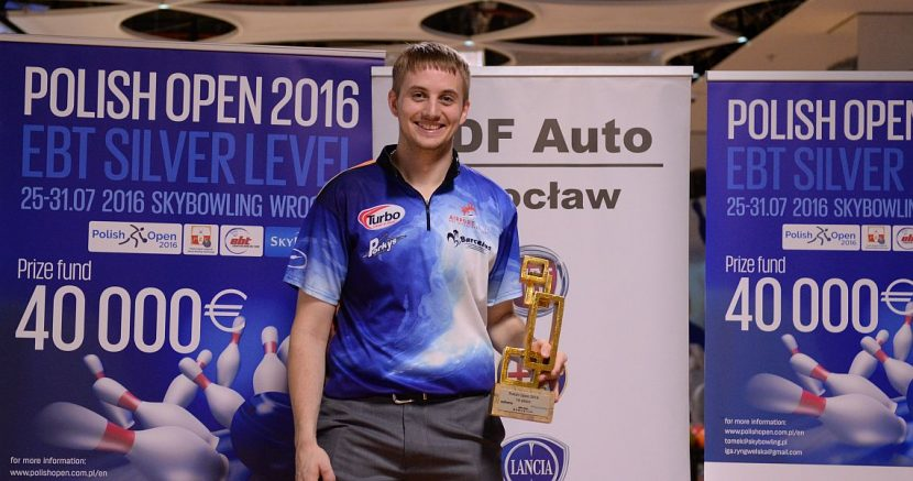 Richard Teece wins his third EBT title in Polish Open