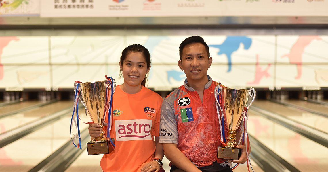 Lalisang, Cheah claim Open Masters titles at 42nd Hong Kong International