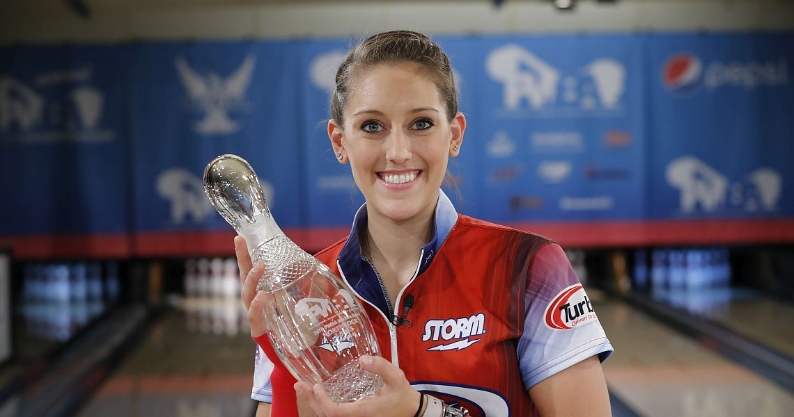 Danielle McEwan captures second career title at PWBA Wichita Open